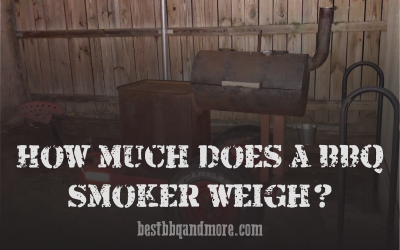 How much does a BBQ Smoker weigh?