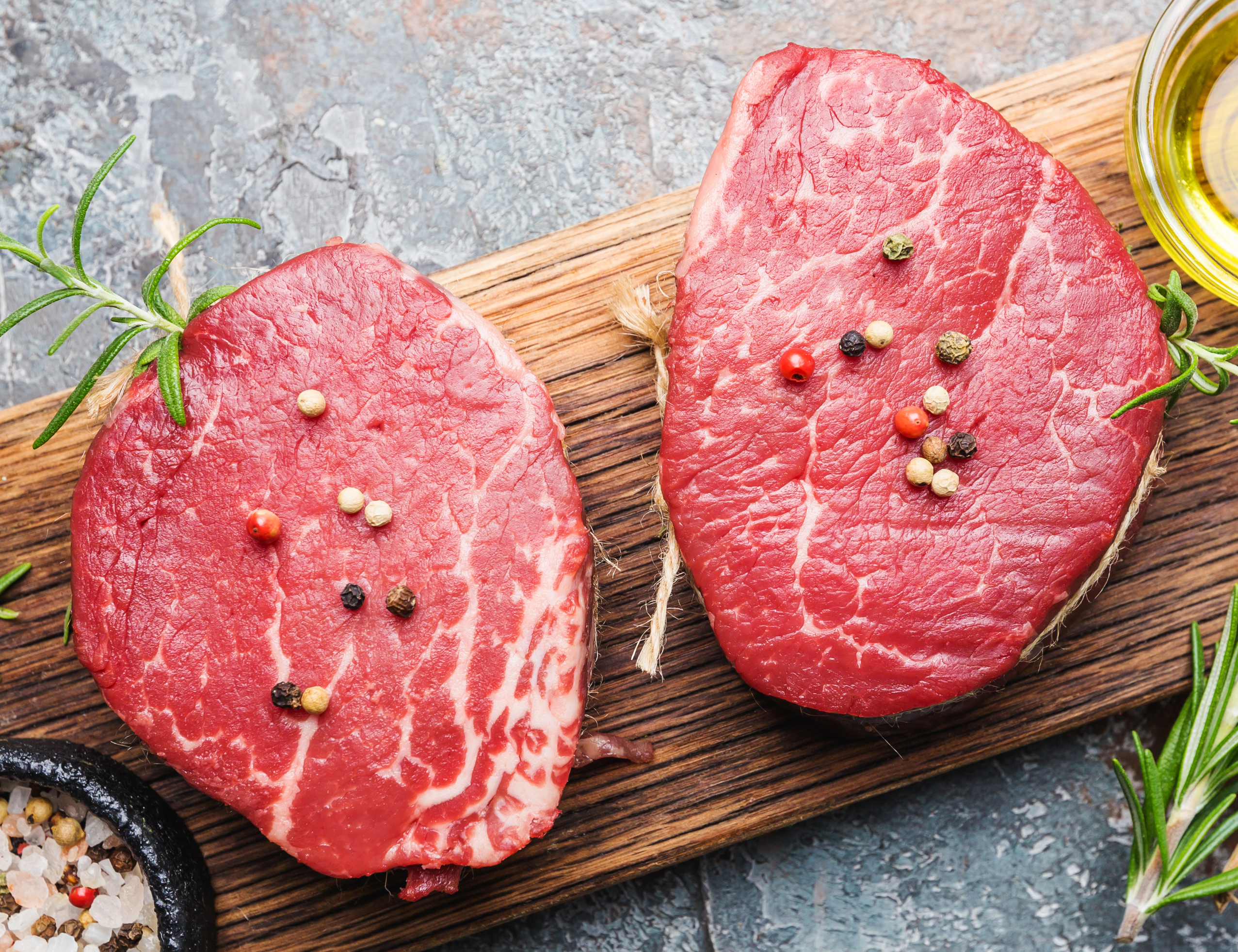 Beef Filet Mignon Tenderloin raw