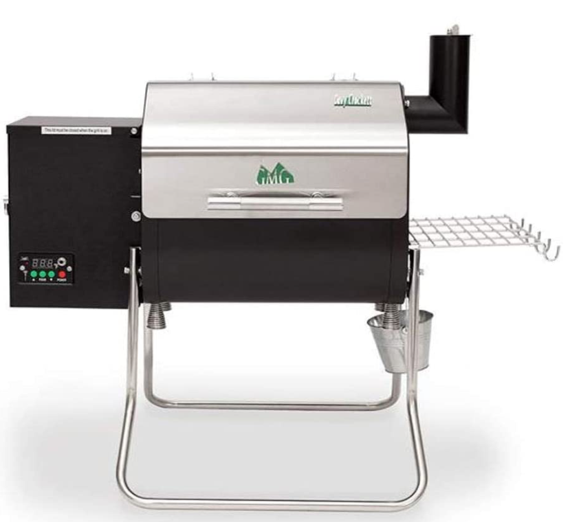Pellet smoker With Hopper